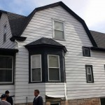 Old siding, window trim, soffit and fascia, and gable trim